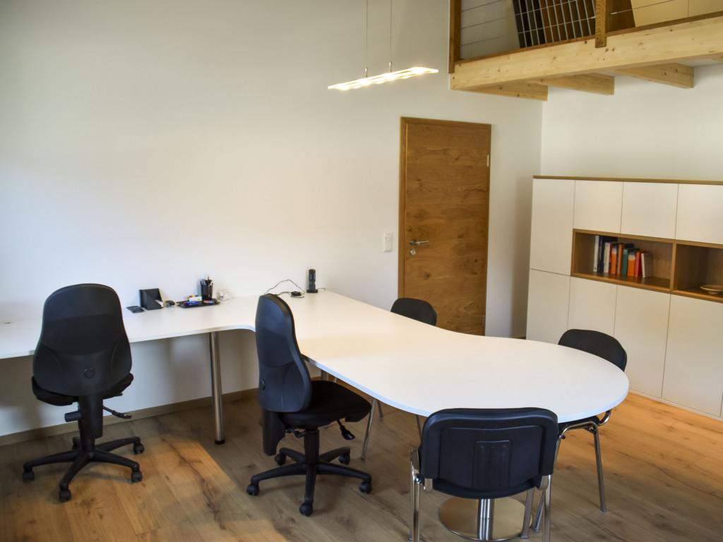 Bautechnik Grammer, Firmensitz in Palling, Landkreis Traunstein, Büro